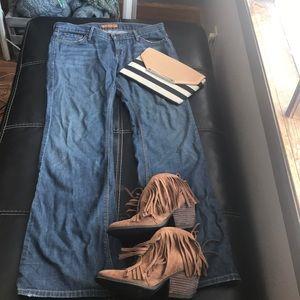 James bootcut jeans